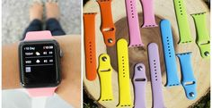 Silicone Band for Apple Watch    Jane