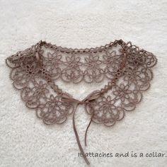 Cotton lace cloth collar image 1