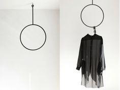 Clothing rail round