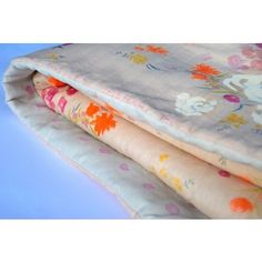 Love this quilt! Nani IRO Japanese Fuccra Blush Double Gauze