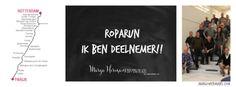 Roparun: ik ben deelnemer!!
