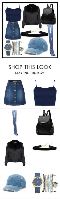 """Untitled #1129"" by fashionqueen886 ❤ liked on Polyvore featuring LE3NO, WearAll, Steve Madden, Glamorous, Mudd and Mixit"