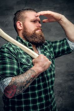 8877e8fd4d1 Lumberjack Beard – What Does It Mean and How To Grow It From Beardoholic.com