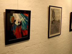 Creature Feature exhibition 2014. Collingwood Gallery, Melbourne VIC. ©Holly Gordon
