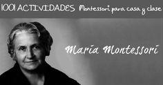 1001 ACTIVIDADES Montessori para casa y clase