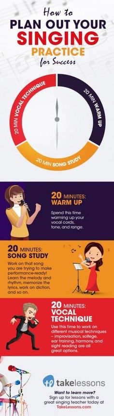 How to Plan Your Singing Practice