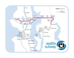 Seattle Light Rail Sand Point Crossing Proposal Map. (Unofficial). By Seattle Subway.