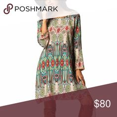 🎉NWT🎉 Boho Style Tunic Dress Preorder Brand new with tags boho style tunic dress for summer into fall. Will update pictures once I receive, like to be notified when in stock. Dresses