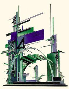 Iakov Chernikhov «Architectural Fantasies» 1925-1933