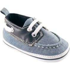 Luvable Friends Newborn Baby Boys Boat Shoes, Newborn Boy's, Size: 12 - 18 Months, Blue
