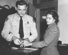 Rosa Parks....I don't think I would have ever had her courage.