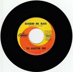1963    REVEREND  MR.  BLACK   -   THE  KINGSTON  TRIO #RocknRoll