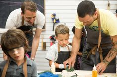 The Butterfly Joint, A Woodworking Studio for Kids