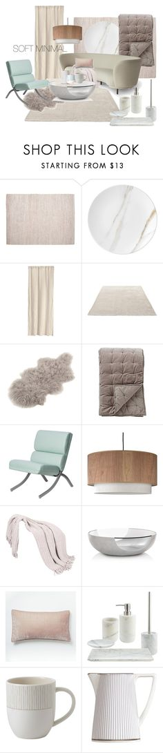 """SOFT MINIMAL"" by lysenko-nastya on Polyvore featuring interior, interiors, interior design, дом, home decor, interior decorating, Pottery Barn, Wedgwood, H&M и &Tradition"