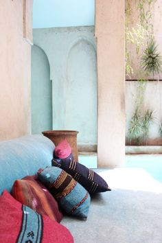 Photos of our stay at Riad El Fenn #Marrakech #Morocco