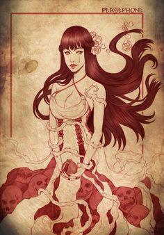 Persephone - queen of the underworld