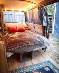 Stunning Campervan Room Ideas From The World,s Best Interior Designers - Page 6 of 37 Minivan Camper Conversion, Conversion Van, Chevy, Best Campervan, Best Interior, Interior Design, Van Dwelling, Mobile Living, Van Home