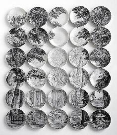 landscape by art Plates