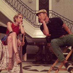 Chanel + Chad #ScreamQueens