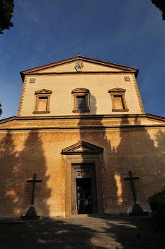 Firenze - Church at Piazzale Michelangelo