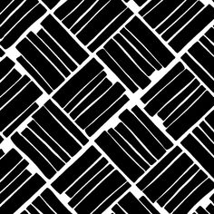Pattern with squares made of stripes via PATTERNS & PRINTS