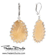Beautiful earrings from our Frederic Duclos Collection, Find this and more at Skatell's Jewelers, http://www.skatellsjewelers.com #skatellsjewelers #fredericduclos #earrings