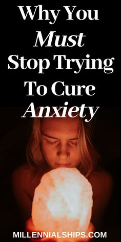 Why You Should Stop Trying to Get Rid of Anxiety - Millennialships Dating Get Rid Of Anxiety, How To Cure Anxiety, Stress And Anxiety, Self Care Worksheets, Self Care Activities, Panic Disorder, Anxiety Disorder