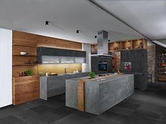 Barn Kitchen, Kitchen Island, Future House, My House, Modern House Plans, Cuisines Design, Küchen Design, Modern Kitchen Design, Home Goods