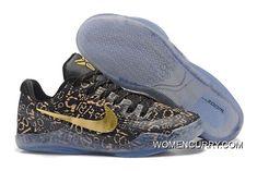 "buy online 37ebd f6aa2 ""Mamba Day"" Nike Kobe 11 Black Gold Discount"