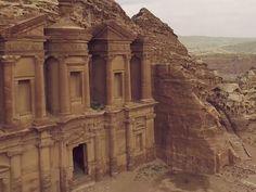 L'antique cité caravanière de Petra, en Jordanie