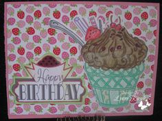 Her Craftiness: Happy Birthday with Challenge at 613 Avenue Create