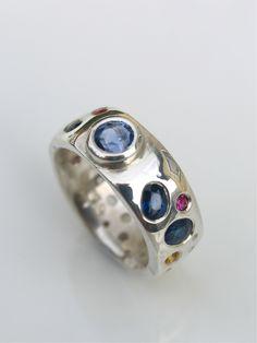 My beautiful sapphire ring - by Debra Fallowfield