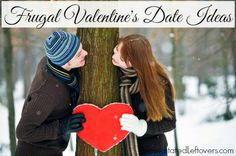 Frugal date ideas for Valentine's Day. Alternatives to pricey restaurants, so you can enjoy a Valentine's Day date even if you are on a budget.