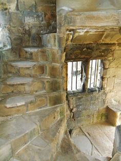 Spiral staircase in the ruins of Ashby-de-la-Zouch castle, Lleicestershire, England  All Original Photography by http://vwcampervan-aldridge.tumblr.com