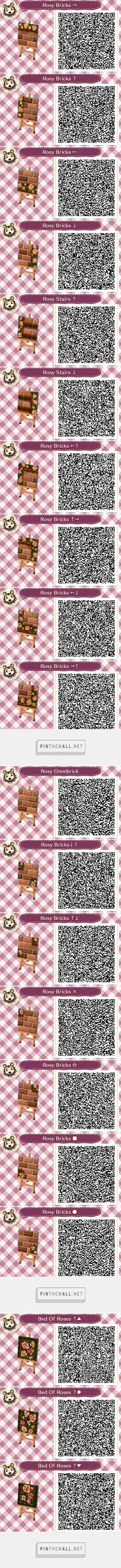 COMPLETE Rosy brown bricks path