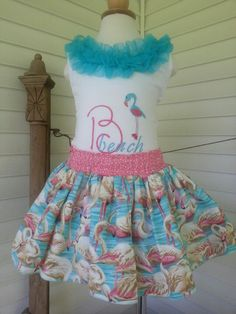 Ready for some Beach Fun!!! Handmade by Calamity Jane's Cottage.