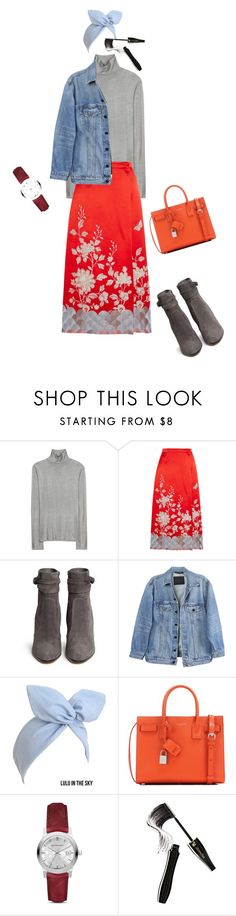 """Untitled #2732"" by ayse-sedetmen ❤ liked on Polyvore featuring Balenciaga, Gucci, Gianvito Rossi, Y/Project, Yves Saint Laurent, Burberry and Lancôme"