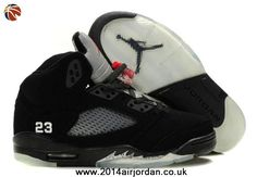 reputable site a76fa 46304 Fast Shipping To Buy Black Varsity Red-Metallic Silver Women Air Jordans 5  Retro