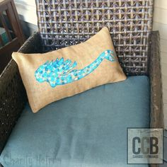 We just love seeing the Crew create personalized pieces for their own homes. Whether they use our totes, aprons, stretched canvases, or pillow blanks, we always feel inspired by their creativity! Today, Charity is showing us how she stenciled this fabulous mermaid onto one of our burlap rectangle pillowcases. The outcome is charming, and it looks fabulous on her porch chair! In the summer we live ...