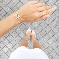 Audaviv Dainty Jewelry: @Paremilie Style Blogger