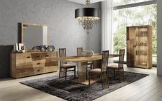 ESF Furniture Picasso Two-toned contemporary Italy-made dining table Modern dining room Picasso set in Contemporary Dining Room Furniture, Modern Dining Table, Extendable Dining Table, Classic Furniture, Table Furniture, Modern Furniture, Dining Tables, Wholesale Furniture, Dining Room Sets