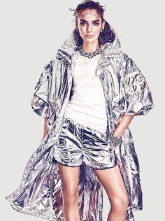 Zuzanna Bijoch by Andreas Sjodin for Vogue Japan June 2014 - Tuba TANIK