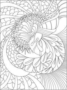 CH Tranquility Colouring Book - Welcome to Dover Publications Quote Coloring Pages, Colouring Pages, Adult Coloring Pages, Free Coloring, Coloring Sheets, Creative Haven Coloring Books, Celtic Patterns, Rug Hooking Patterns, Dover Publications