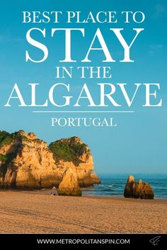 A recommendation on where to stay in the Algarve. Check it out! #portugal #algarve  #accommodation #camping #europe #travel