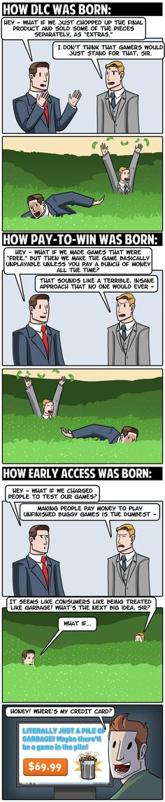How Every Awful Video Game Thing Was Born