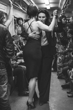 Tango in St-Pete' subway