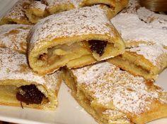 Štrúdl z bílého jogurtu - My site Strudel, Quiche, Cooking Tips, French Toast, Yummy Food, Bread, Breakfast, Ethnic Recipes, Cakes