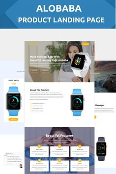 Alobaba - Product Landing Page Template #landingpage #landingpagetemplate #onlinestoretemplate https://www.templatemonster.com/landing-page-template/alobaba-product-landing-page-template-67634.html/