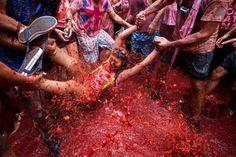 37) La Tomatina - GABRIEL GALLO/AFP/Getty Images