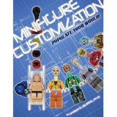 Make Your Own Geeky LEGO Minifigures with the BrickJournal Customization Guide Diamond Comics, Lego Store, Lego Minifigs, Custom Decals, Book Show, Book Crafts, Lego Sets, Book Format, Legos